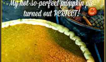 My Not-So-Perfect Homemade Pumpkin Pie Filling Turned Out PERFECT! Recipe Too!