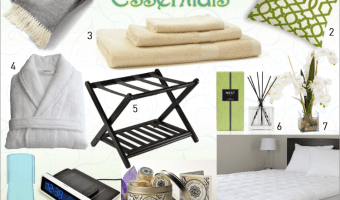 Your Guests are Coming: Guest Bedroom Essentials
