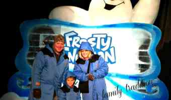 ICE at Gaylord TEXAN featuring Frosty the Snowman