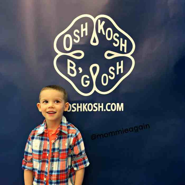 OshKosh B'gosh Spring Attire for My Preschooler