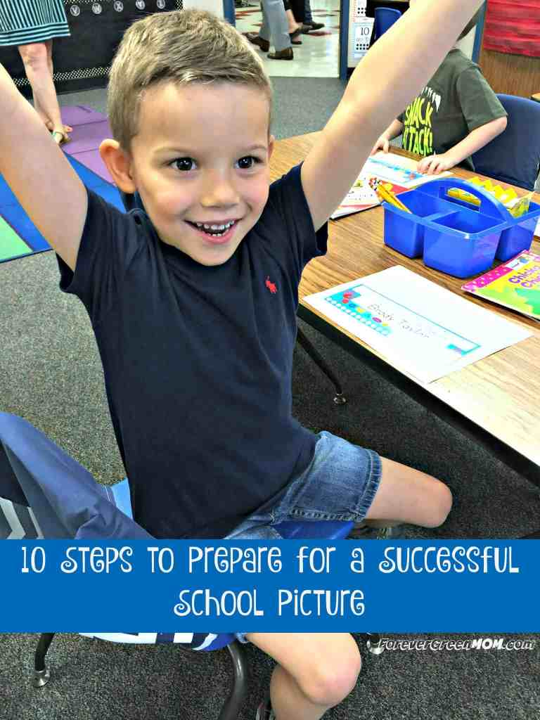 10 steps to prepare for a successful school picture