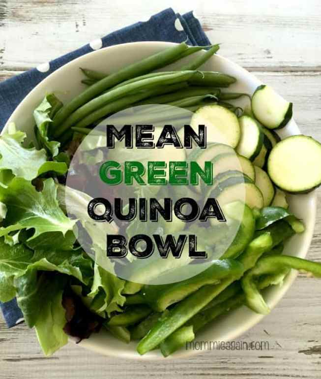 Mean Green Quinoa Bowl Recipe