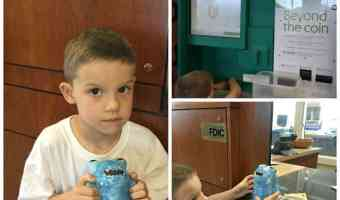 Teaching my Son Responsibility with Money – Our 3rd Trip to the Bank