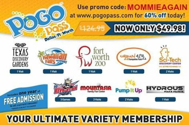 Free Admissions POGO PASS TEXAS Giveaway!! #AustinWaco #DFW #SanAntonio Worth Over $124.95 ENDED