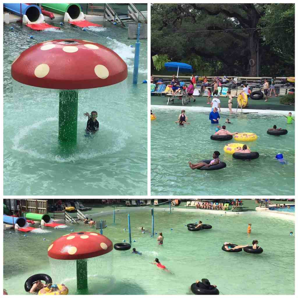 Comal River pool at Schlitterbahn New Braunfels