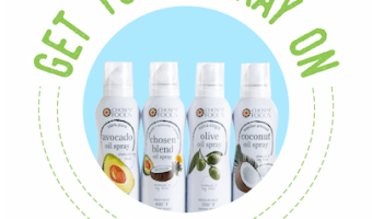 Chosen Foods No-Chemical Cooking Sprays Giveaway ENDED