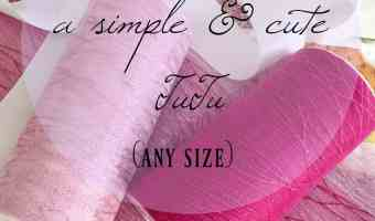 How to Make a Simple Classy Cute Tutu