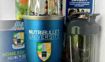 NutriBullet University & NBU Prize Pack Giveaway 8/1 – 8/15/16