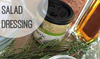 Homemade Healthy Rosemary Salad Dressing