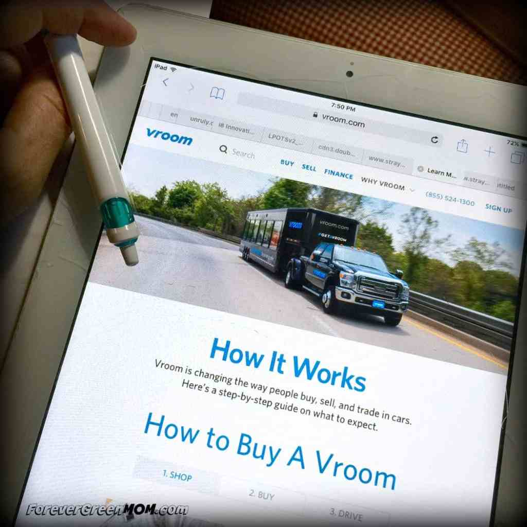 VROOM - online car buying and selling