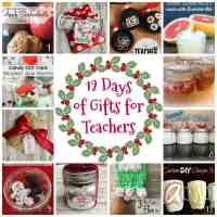 12 Days of Gifts for Teachers