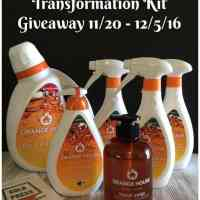 Orange House Cleaning Transformation Kit Giveaway – ENDED