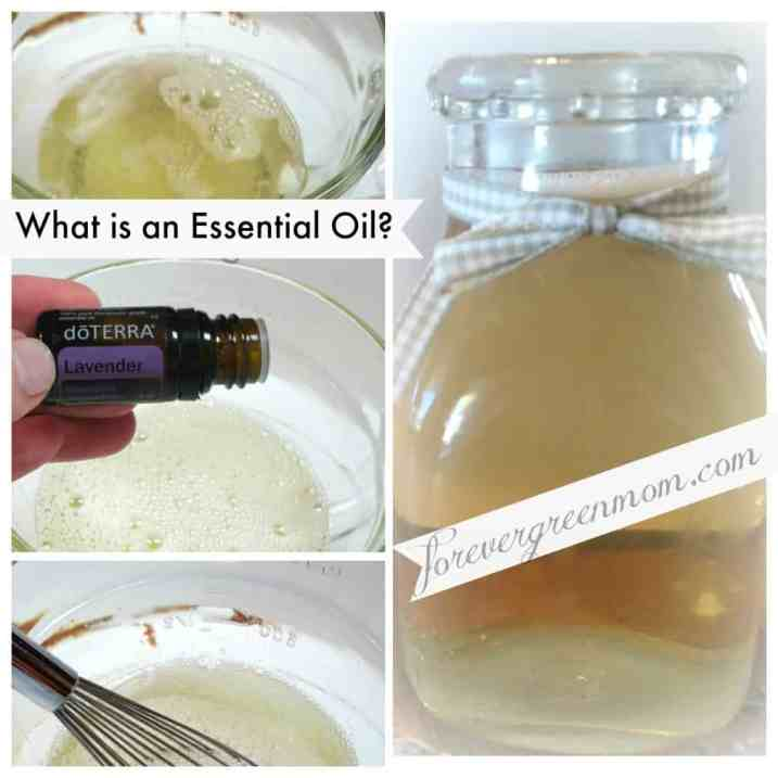 What is an Essential Oil - a bottle of bubble bath