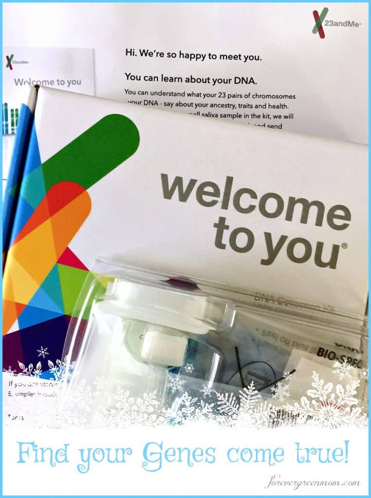 23andMe DNA Genetic Testing + My Personal Reports