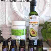 DIY Deep Hair Conditioner with Essential Oils
