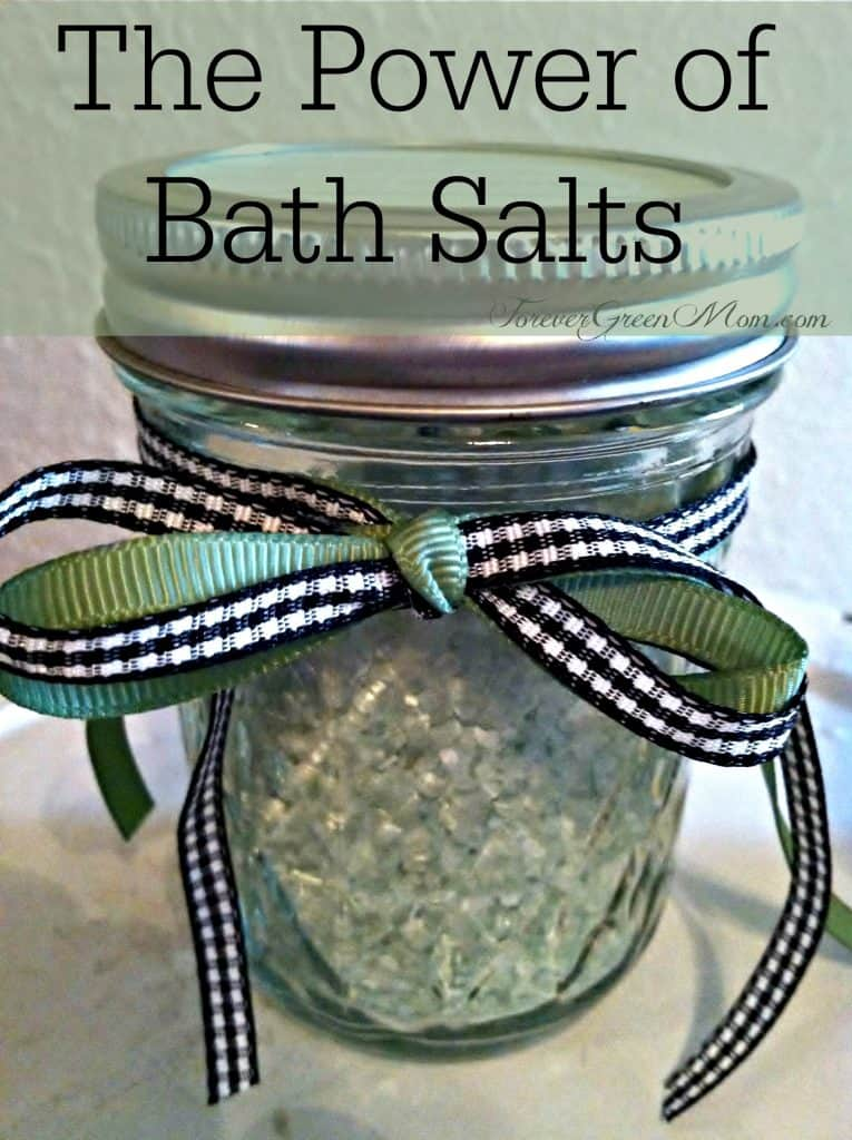 The Power of Bath Salts + Recipes