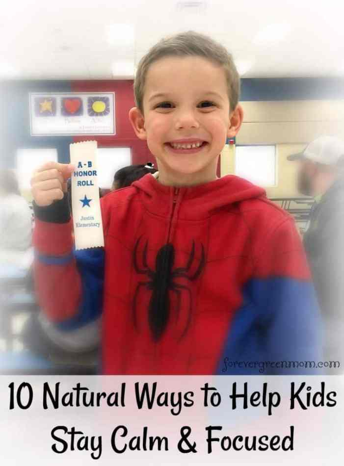 10 Natural Ways to Help Kids with ADHD