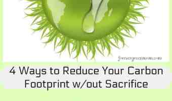 4 Ways to Reduce Your Carbon Footprint without Sacrifice