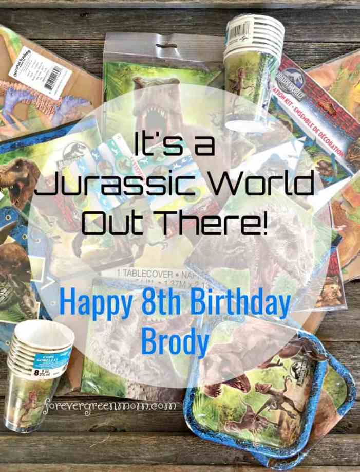 It's A Jurassic World Out There!