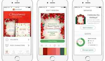 Zero Waste Holiday with Free Digital Invitations