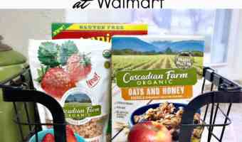 Natural & Organic Kids Breakfast Choices at Walmart