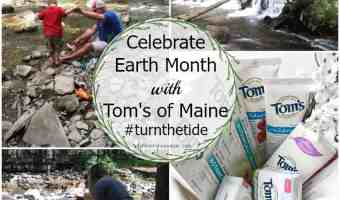Tom's of Maine Celebrates Earth Month in a Big Way