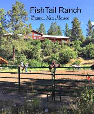 Outdoors at Fishtail Ranch – Chama, New Mexico