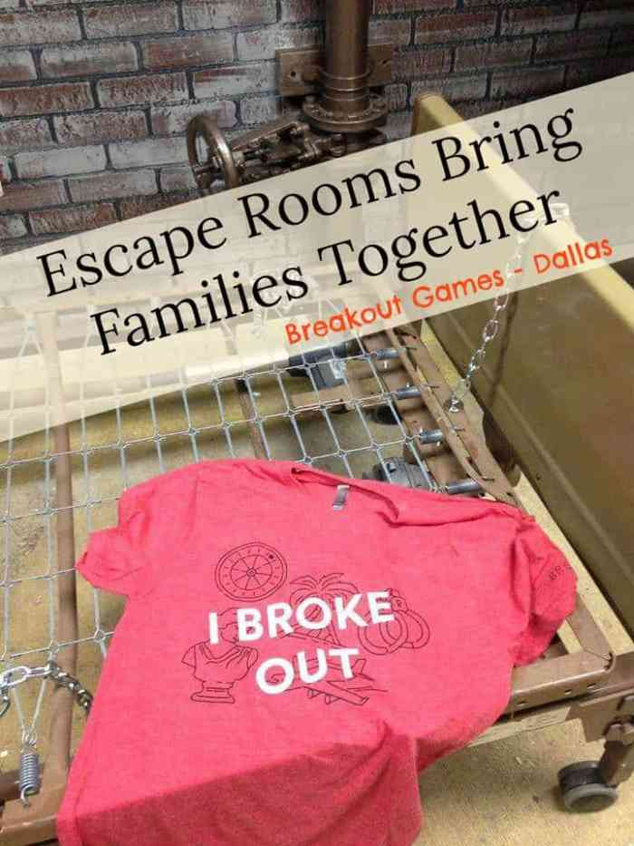 Escape Rooms Bring Families Together