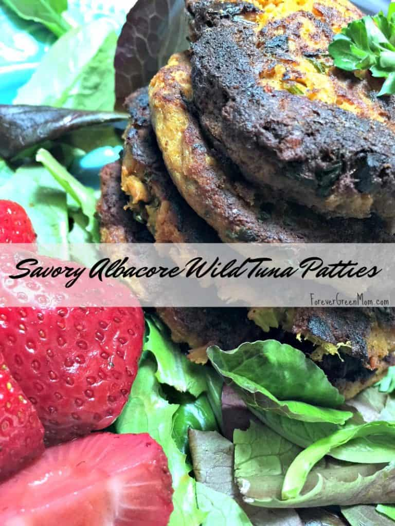 Savory Albacore Wild Tuna Patties