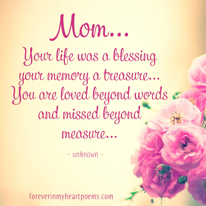 15 Best Missing Mom Quotes on Mother\'s Day - In loving ...