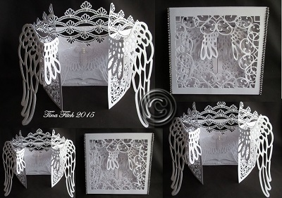 Craft Robo Gsd File Template Gatefold Wedding Arched Card