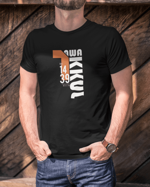 t shirt mockup featuring a cropped face man with hands in his pockets 2967 el1