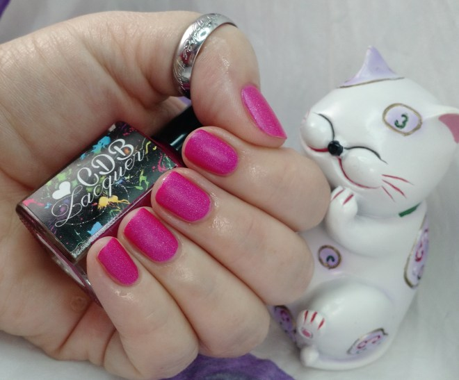 CDB Lacquer Hazy Pink from Overcast Mattes Collection