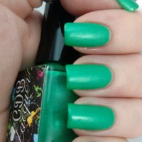 CDB Lacquer - Gloomy Green from Overcast Mattes Collection