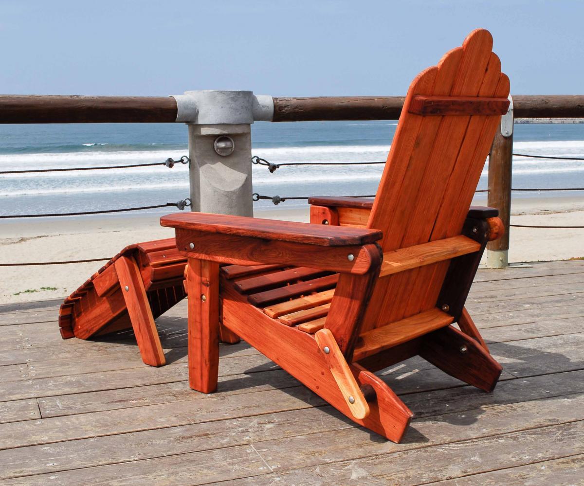Adirondack Wooden Folding Chair