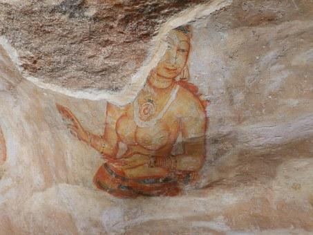 frescoes sigiriya