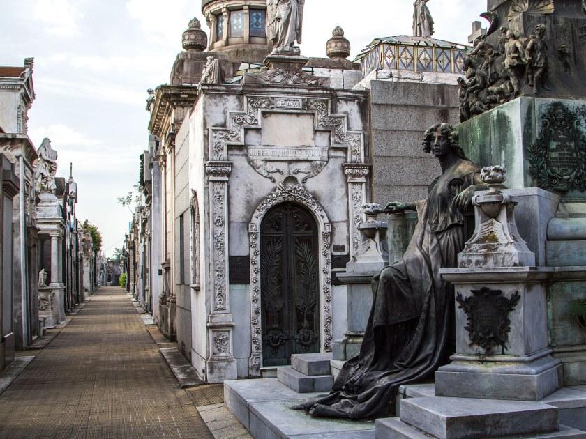 recoleta cemetery-buenos-aires-argentina-south america