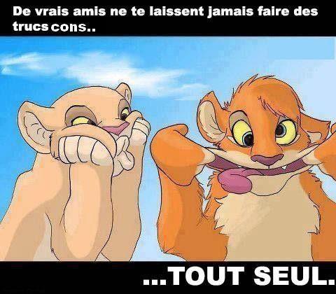 Les vrai(e)s ami(e)s