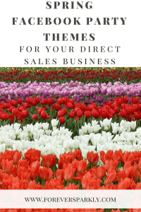Facebook Party Spring Themes for your Direct Sales Business. Click to see more seasonal themes! Kristy Empol