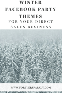 Facebook Party Winter Themes for your Direct Sales Business. Click to see more seasonal themes! Kristy Empol