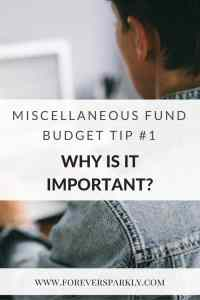 Why miscellaneous funds are important for direct sellers. Click to read how to set up a miscellaneous fund as a direct seller. Kristy Empol