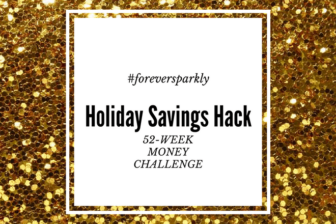 Stressed about holiday spending? Click to read my holiday savings hack. A 52-week money challenge to fully fund your holiday season!