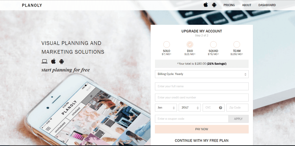 Are you a direct seller looking for a direct sales Instagram tool to grow your business? Click to see a review and video on just how easy Planoly is to use! Kristy Empol
