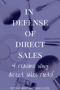 In defense of direct sales and the journey of direct sellers. Click to read why direct sales rocks and why you should consider your own direct sales journey! Kristy Empol