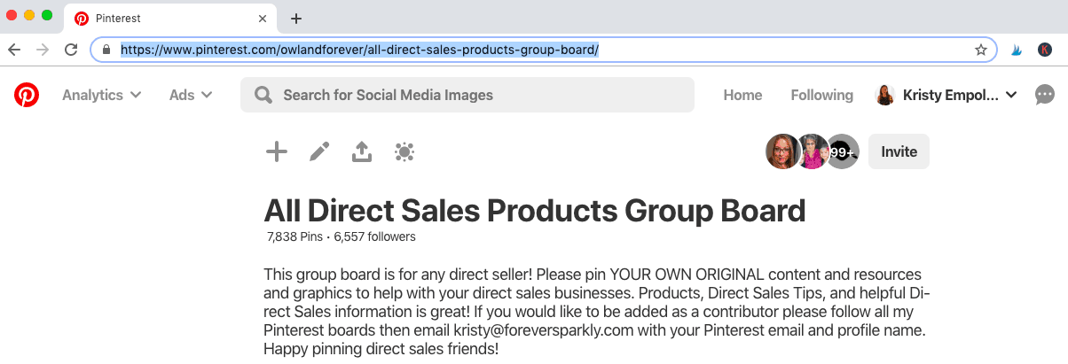 Direct Sales Group Board on Pinterest