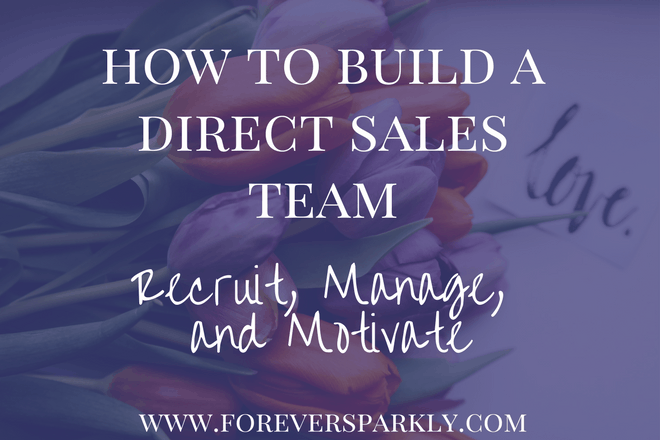 How to Build a Direct Sales Team: Recruit, Manage, and Motivate!