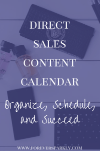Trying to keep up with your social media posts and grow your direct sales business? You need a direct sales content calendar. Read how to create your own! Kristy Empol