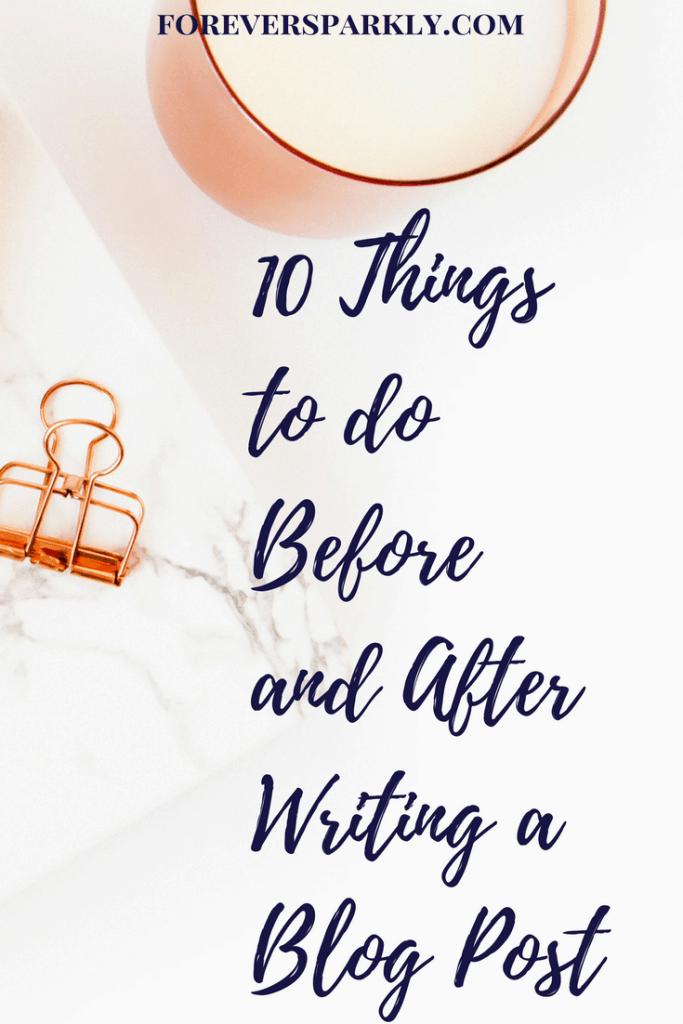 If you write a direct sales blog and wonder how to grow your audience, click to read these 10 things to do before and after writing a blog post! Kristy Empol