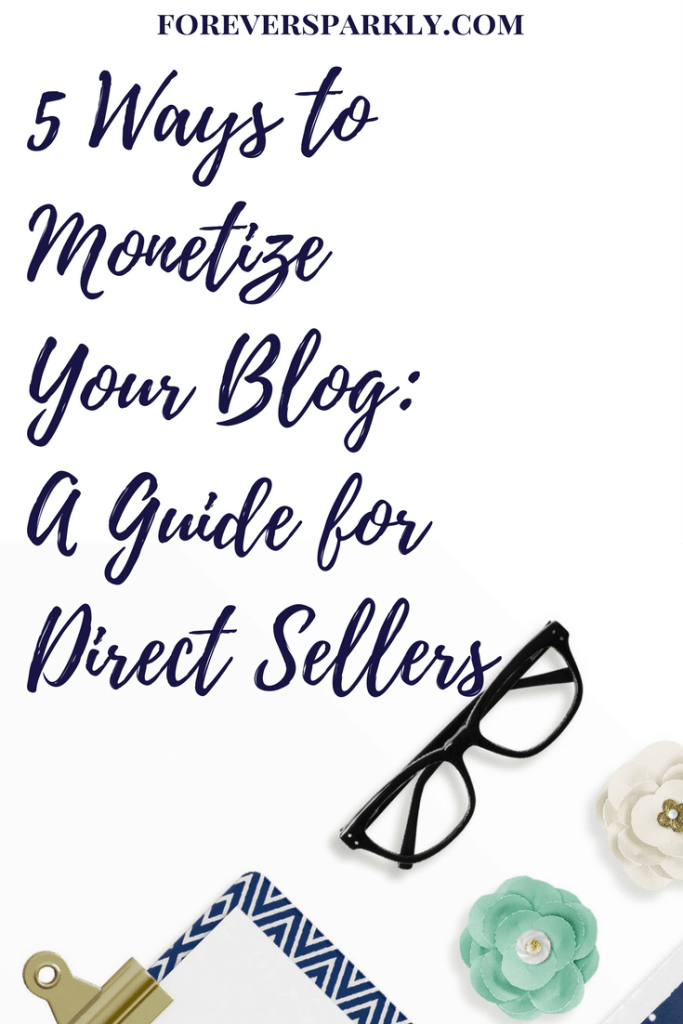 Wonder how to make money from your direct sales blog? Consider these 5 ways to monetize your blog and earn monthly passive income! Kristy Empol