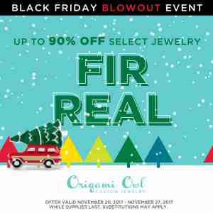 Origami Owl Black Friday 2017